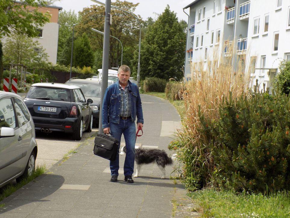 Hundetrainer Dirk Lenzen will Familie Yapar aus Köln beim Welpenkauf beraten ... - Bildquelle: SAT.1