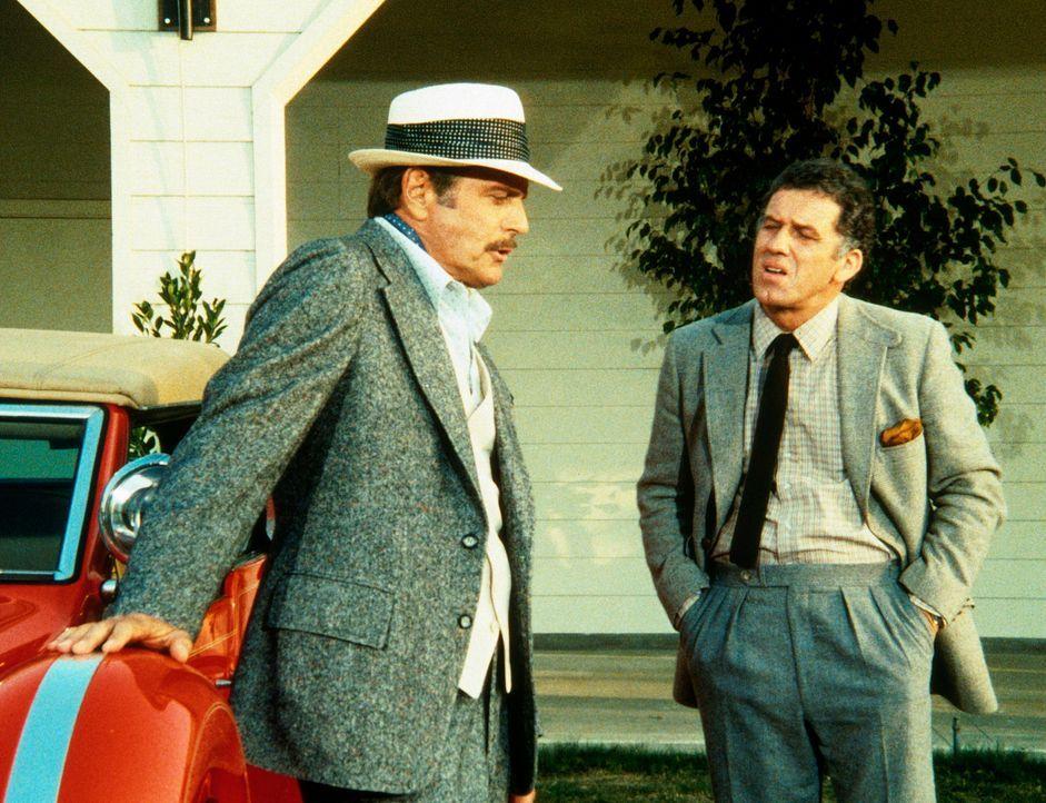 Taggart (David Schröder, l.) und Masterson (William Jordan, r.) planen einen gigantischen Coup. - Bildquelle: CBS Television