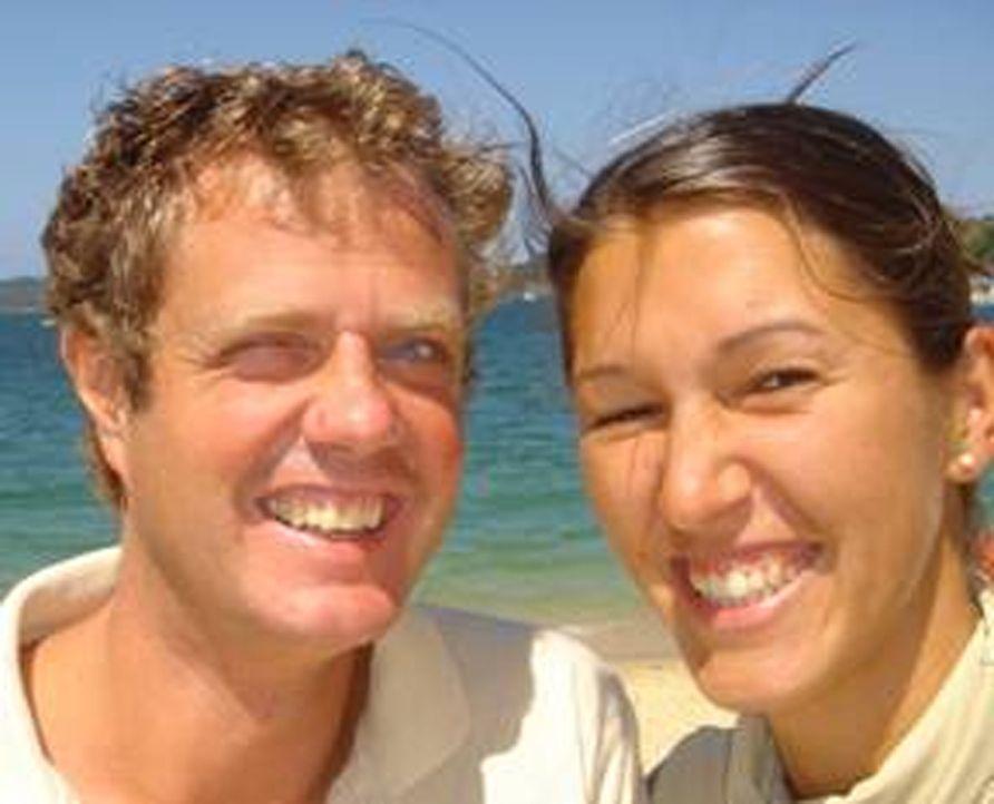 Die Knorrs sind regelrechte Weltenbummler. Karsten (40), Freundin Sabine Stoll (32) und Töchterchen Lola (1) pendeln zwischen Mallorca und Sydney in... - Bildquelle: kabel eins