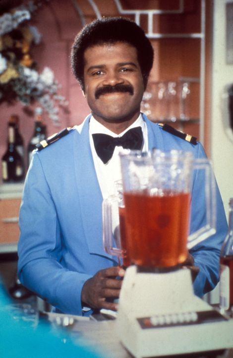 (3. Staffel) - Barkeeper Isaac Washington (Ted Lange, l.) erlebt immer mal wieder ganz besondere Momente auf hoher See ... - Bildquelle: CBS Studios Inc. All Rights Reserved.