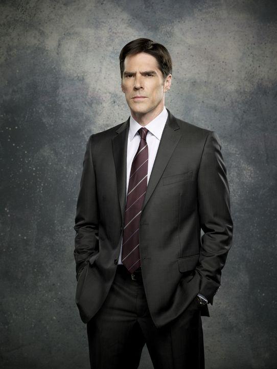 (8. Staffel) - Aaron Hotchner (Thomas Gibson) ist ebenso Teamleiter wie Teamplayer des BAU: Immer loyal, aber auch durchsetzungsstark, schützt er di... - Bildquelle: ABC Studios