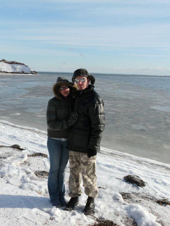David (34) und Anja (32) Traumann sind im Juli von Immendingen in Baden-Württemberg nach Prince Edward Island im Osten von Kanada ausgewandert. - Bildquelle: kabel eins