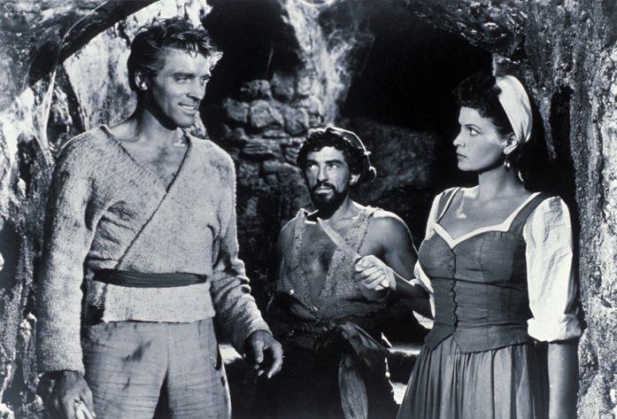 (v.l.n.r.) Vallo (Burt Lancaster); Ojo (Nick Cravat); Consuelo (Eva Bartok) - Bildquelle: 1952 Warner Bros. Entertainment Inc. Renewed © 1980 Norlan Productions Inc. All rights reserved.