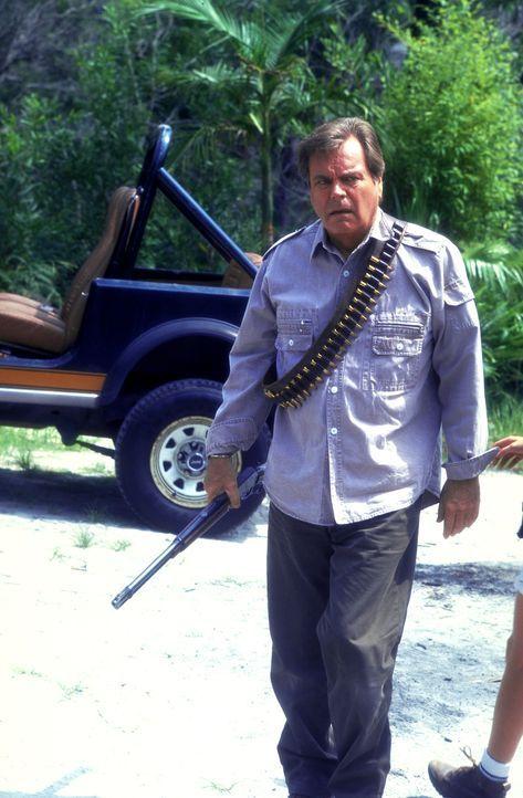 Rasend vor Eifersucht geht Jonathan (Robert Wagner, l.) auf seinen Rivalen Elliott los. Will er ihn erschießen? - Bildquelle: Columbia Pictures