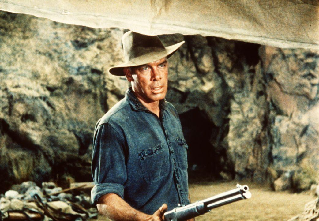 Kane (Lee Marvin) hat sich zu einem Sadisten entwickelt und will Adam umbringen. - Bildquelle: Paramount Pictures