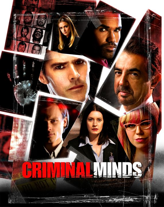 (4. Staffel) - Criminal Minds - Artwork - Bildquelle: 2008 Touchstone Television. All rights reserved. NO ARCHIVE. NO RESALE.