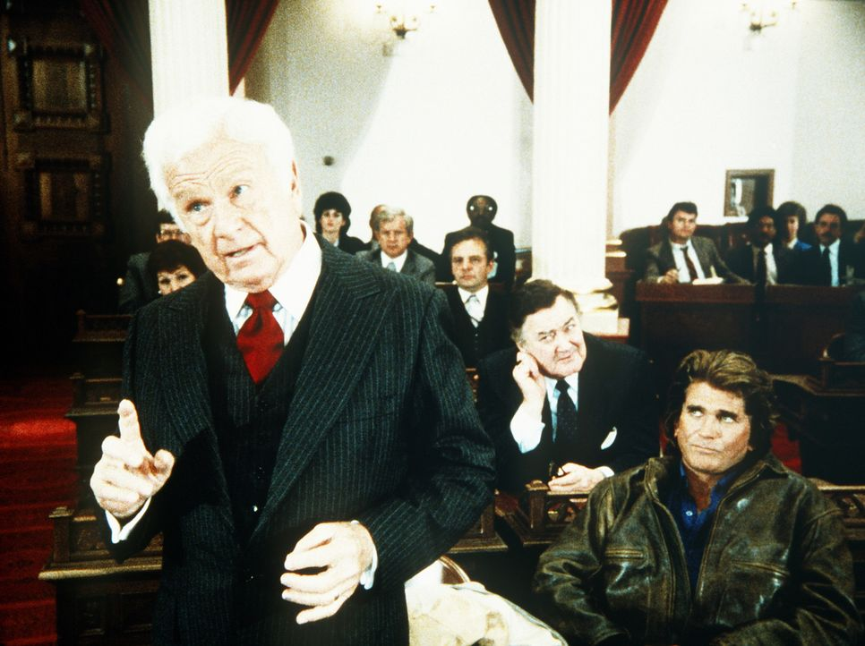 """Endlich ist es gelungen, """"Corky"""" (Eddie Albert l.) als Mitstreiter für die gute Sache zu gewinnen. - Bildquelle: Worldvision Enterprises, Inc."""