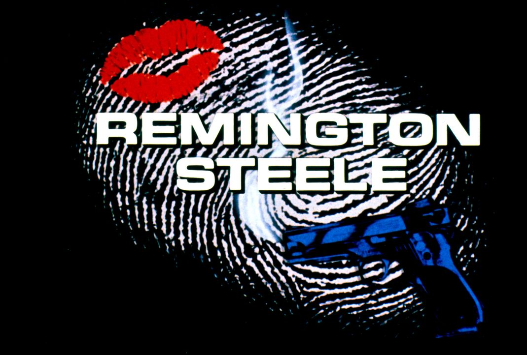 REMINGTON STEELE - Logo - Bildquelle: Motion Picture   1985 MTM PRODUCTIONS.    2001 Twentieth Century Fox Film Corporation. All rights reserved.