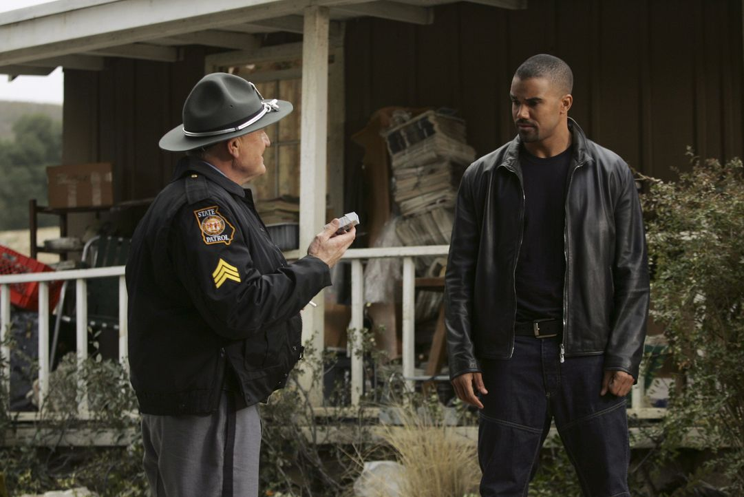 Derek Morgan (Shemar Moore, r.) - Bildquelle: Monty Brinton 2007 Touchstone Television. All rights reserved. NO ARCHIVE. NO RESALE.
