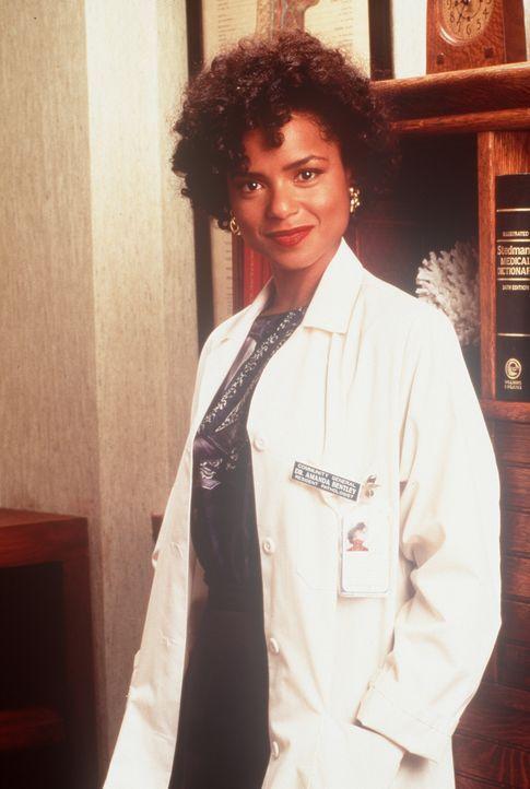 Amanda (Victoria Rowell) in ihrem täglichen Outfit: ihr Arztkittel. - Bildquelle: Viacom