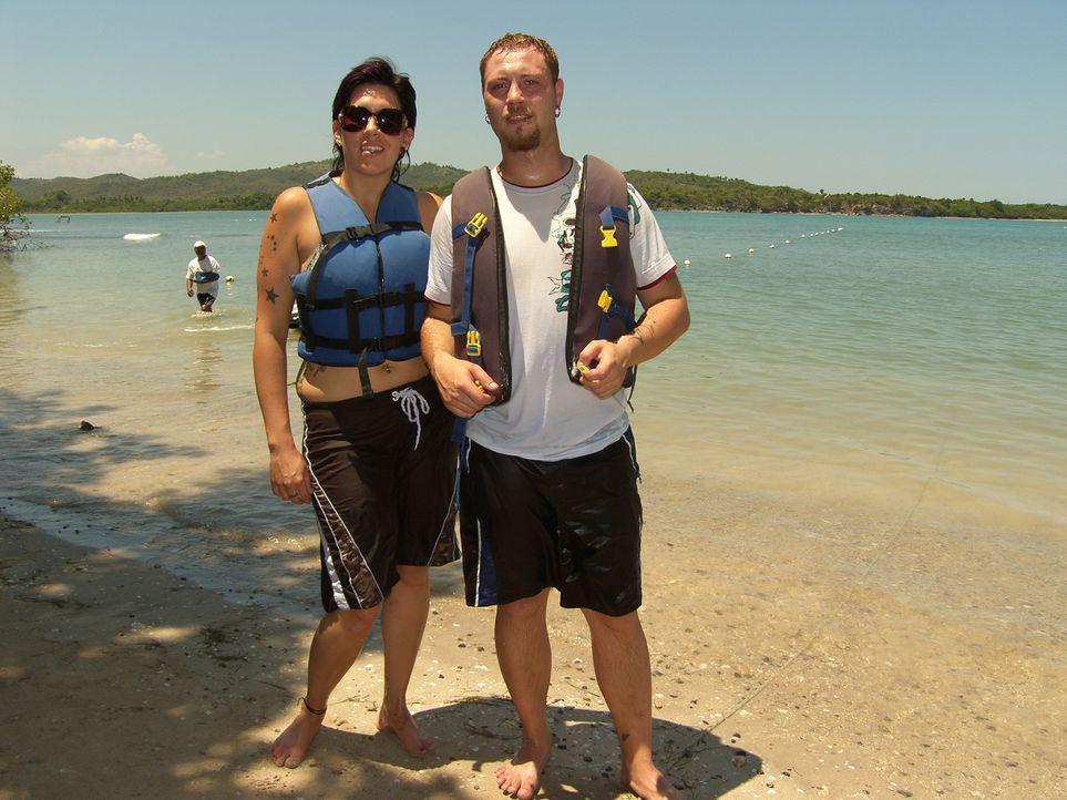Michaela (24) und Marcus (25) Grogorick wollen mehr und fangen noch mal bei Null an - in der Dominikanischen Republik ... - Bildquelle: kabel eins