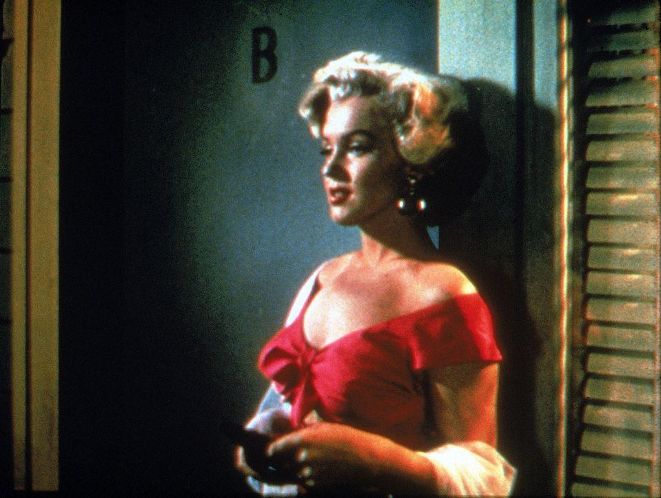 Die attraktive Loomis (Marilyn Monroe) plant zusammen mit ihrem Geliebten, ihren kranken Ehemann zu ermorden ... - Bildquelle: 1953 Twentieth Century Fox Film Corporation.