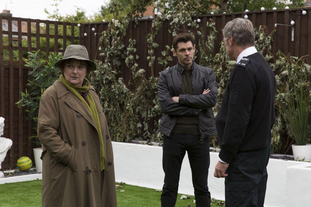Vera Stanhope (Brenda Blethyn, l.); Aiden Healy (Kenny Doughty, M.) - Bildquelle: ITV Studios