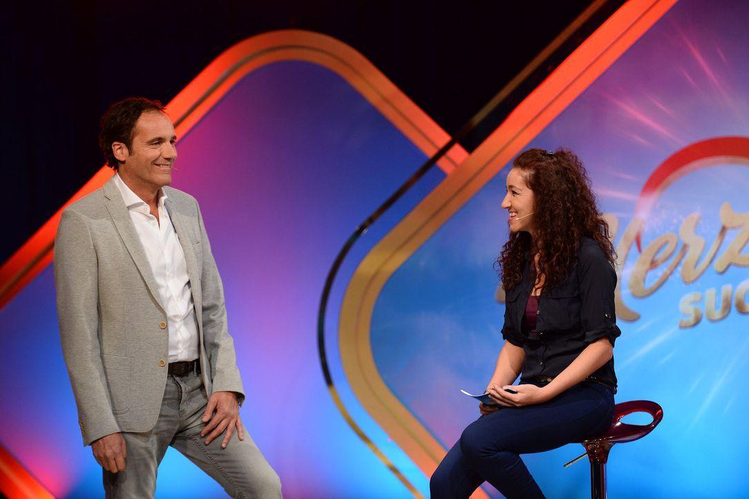 Kann Thomas Ohrner (l.) Bianca (r.) bei der Entscheidung helfen? - Bildquelle: Willi Weber SAT.1 Gold