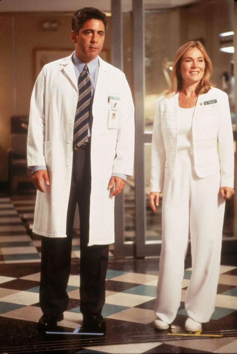 Dr. Aaron Shutt (Adam Arkin, l.); Krankenschwester Camille Shutt (Roxanne Hart, r.) - Bildquelle: 1995 Twentieth Century Fox Film Corporation.  All rights reserved.