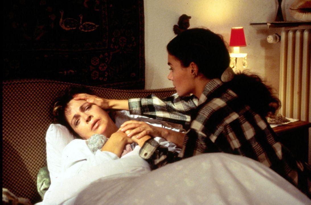 (Foto: SAT.1/Flynn) - Stefanie (Kathrin Waligura, r.) versucht, ihre Freundin Klara (Walfriede Schmitt) zu trösten. - Bildquelle: Noreen Flynn Sat.1