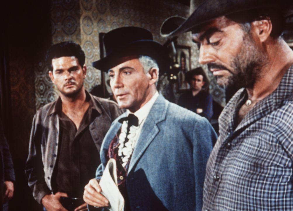 In Virginia City spricht man über den bevorstehenden Bürgerkrieg, und die Ereignisse werfen ihre Schatten voraus. Der Geschäftsmann Frederic Kyle (C... - Bildquelle: Paramount Pictures