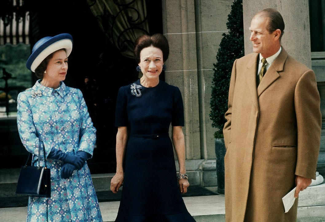 Queen-ElizabethII-Prinz-Philip-Wallis-Simpson-Mai-1972-AFP - Bildquelle: AFP