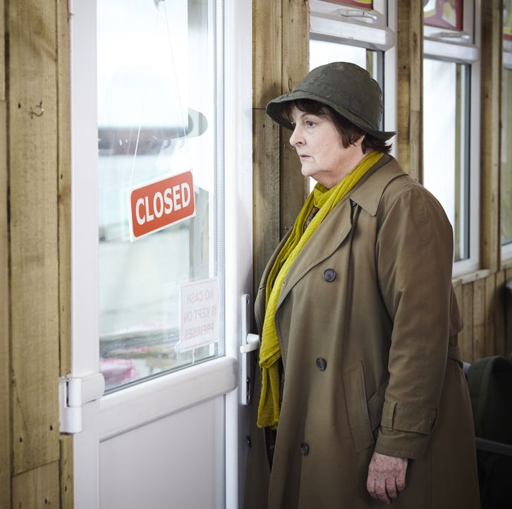Vera Stanhope (Brenda Blethyn) - Bildquelle: Helen Williams ITV Studios