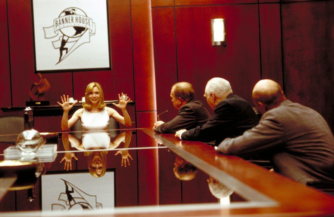 """Sex? Bitte gern. Liebe? Nein, danke: In ihrem Emanzipationsratgeber """"Down with Love"""" fordert Barbara (Renée Zellweger, l.) die Gleichstellung von Ma... - Bildquelle: Epsilon Motion Pictures"""