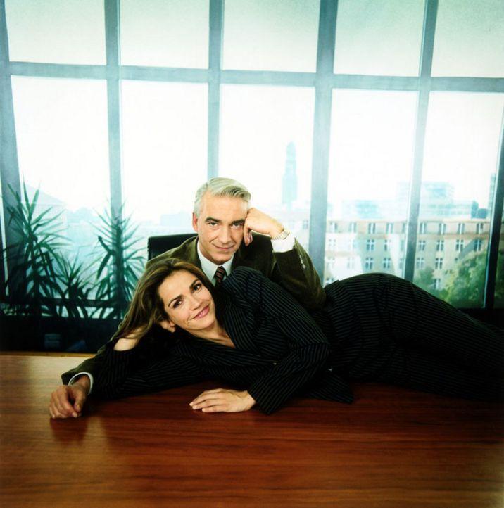 Rebecca Immanuel und Christoph M. Ohrt - Bildquelle: Thorsten Eichhorst Sat.1