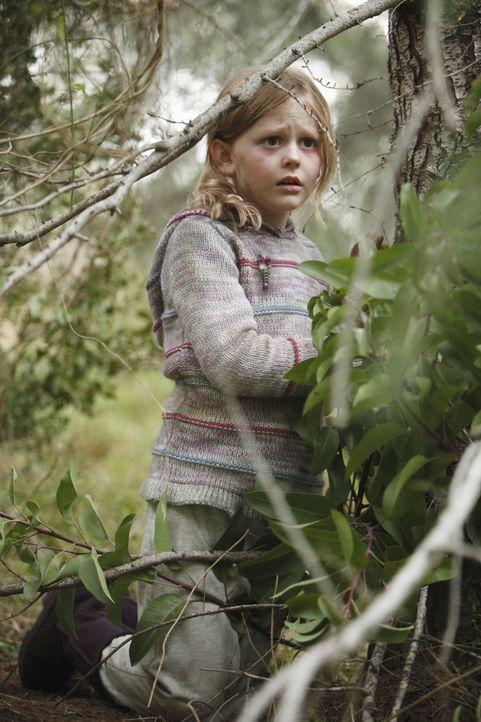 Ein achtjähriger Junge und seine kleine Schwester werden entführt, als sie nachts mit ihren Eltern im Wald zelten - Ana (Emily Alyn Lind) kann aller... - Bildquelle: Jordin Althaus 2010 American Broadcasting Companies, Inc. All rights reserved. / Jordin Althaus