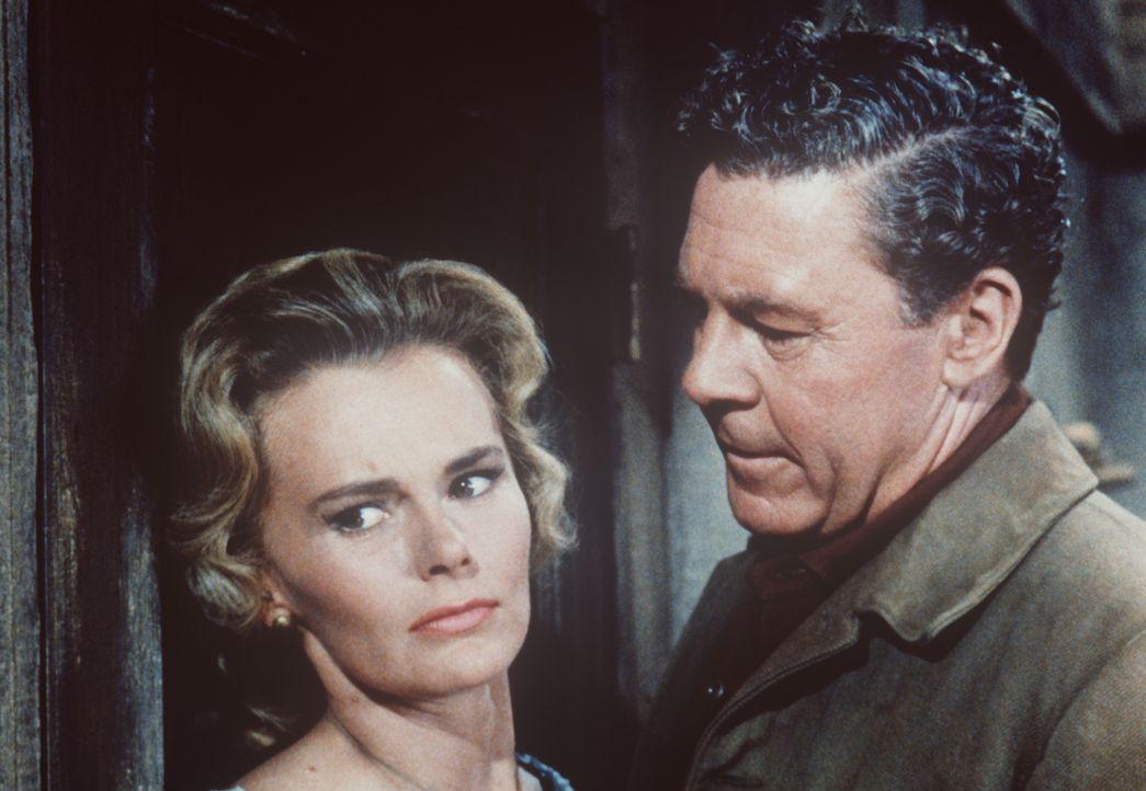 Ann Grant (Bethel Leslie, l.) ist von ihrem Mann Mathew (John Archer, r.) enttäuscht. - Bildquelle: Paramount Pictures