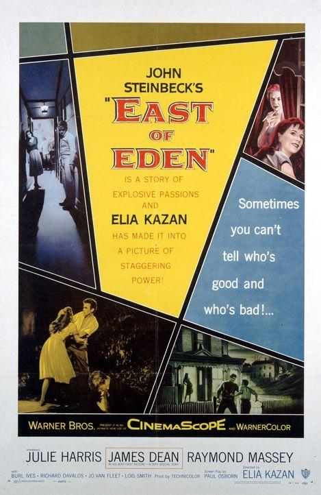 """""""Jenseits von Eden"""" - Plakatmotiv - Bildquelle: Warner Bros. Pictures"""