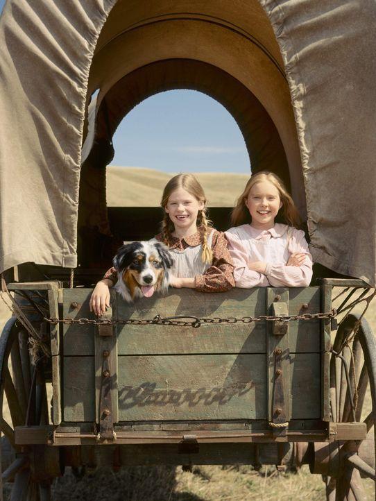 In der Hoffnung auf eine bessere Zukunft packt Zimmermann Charles Ingalls eines Tages seine Frau und die beiden Töchter Mary (Danielle Chuchran, r.)... - Bildquelle: ABC, Inc.