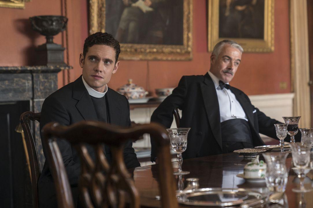 Will Davenport (Tom Brittney. l.); Eddie (Robert Portal, r.) - Bildquelle: Colin Hutton Kudos/ITV/Masterpiece / Colin Hutton