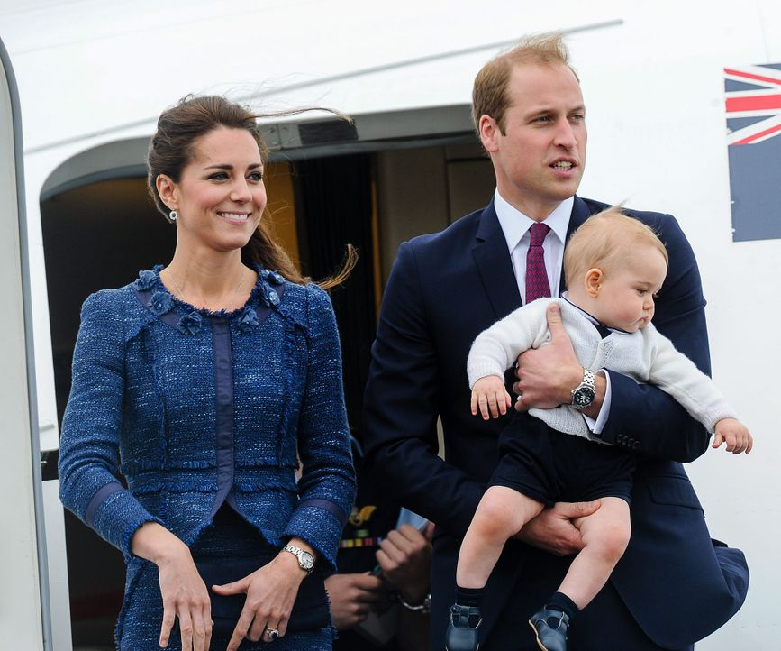 prinz-william-kate-george-140416-dpa - Bildquelle: dpa