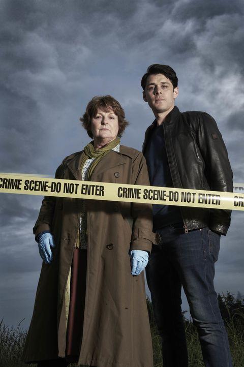 Vera Stanhope (Brenda Blethyn, l.); Aiden Healy (Kenny Doughty, r.) - Bildquelle: Stuart Wood ITV Studios/Stuart Wood
