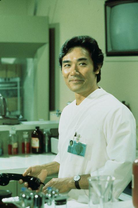 Sam Fujiyama (Robert Ito) ist der Assistent von Dr. Quincy im gerichtsmedizinischen Institut von Los Angeles. Als Chemotechniker assistiert er diese... - Bildquelle: 2004 - 2015  NBCUniversal. ALL RIGHTS RESERVED.