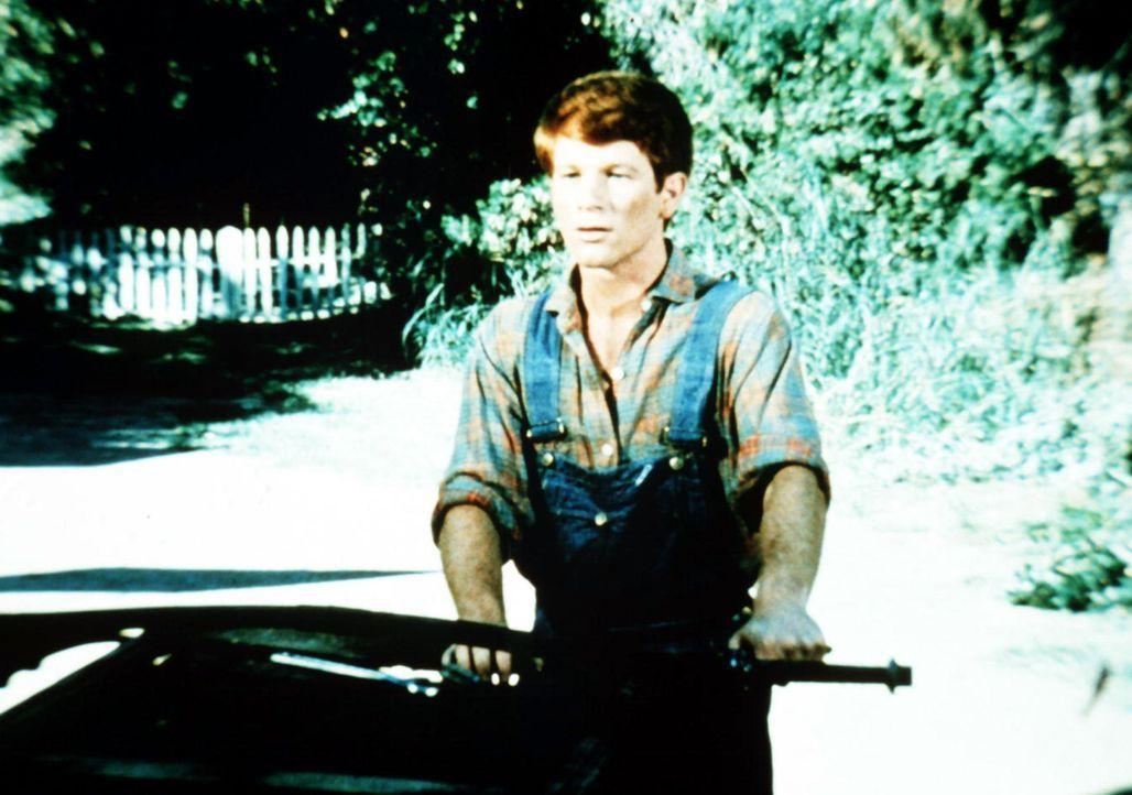 Ben (Eric Scott) ist eifrig bemüht, dem alten Ponywagen seinen ursprünglichen Glanz wieder zu geben. - Bildquelle: WARNER BROS. INTERNATIONAL TELEVISION
