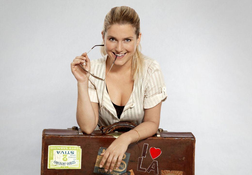 Ist wieder zurück: Anna (Jeanette Biedermann) ... - Bildquelle: SAT.1