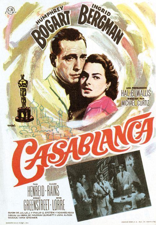 Casablanca - Plakatmotiv - Bildquelle: Warner Bros. Television