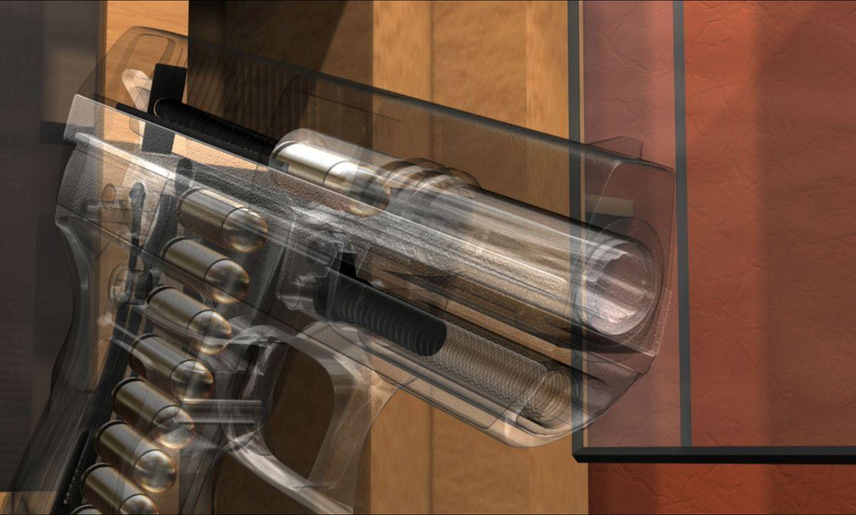 Die Spuren am Mordschauplatz führen nirgendwo hin, doch als die Ermittler den Notruf des Opfers noch einmal abhören, hören sie am Ende der Aufzeichn... - Bildquelle: A&E Television Networks