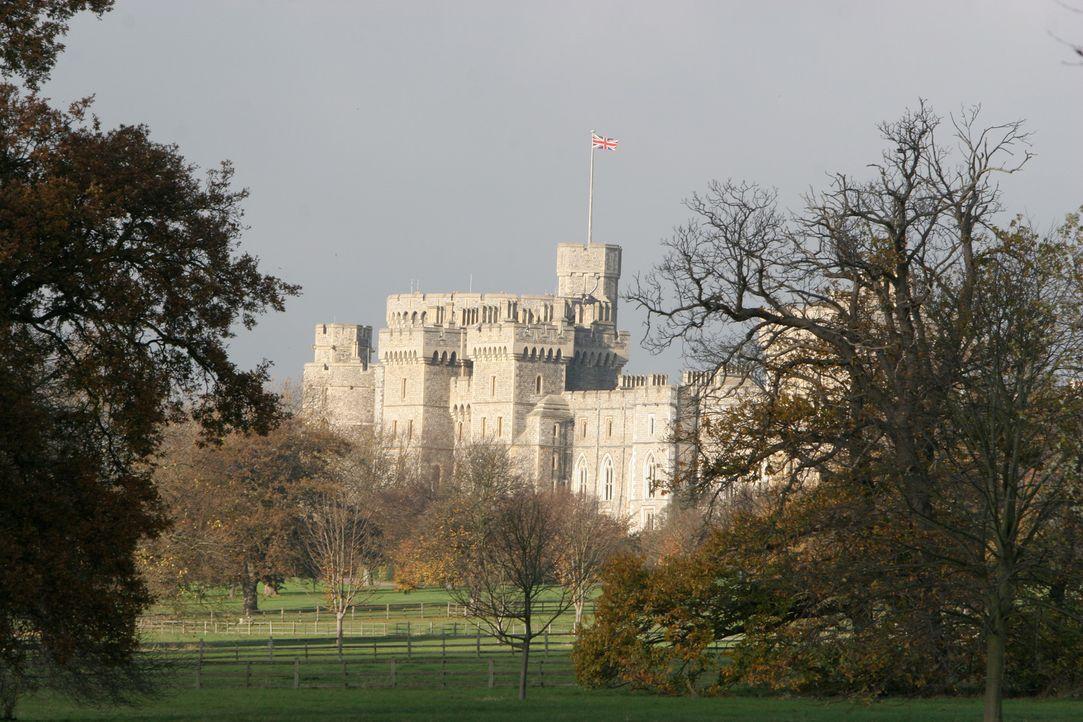 Ein Blick hinter die Kulissen von Schloss Winsor ... - Bildquelle: Ian Jones HTI  MEDIA