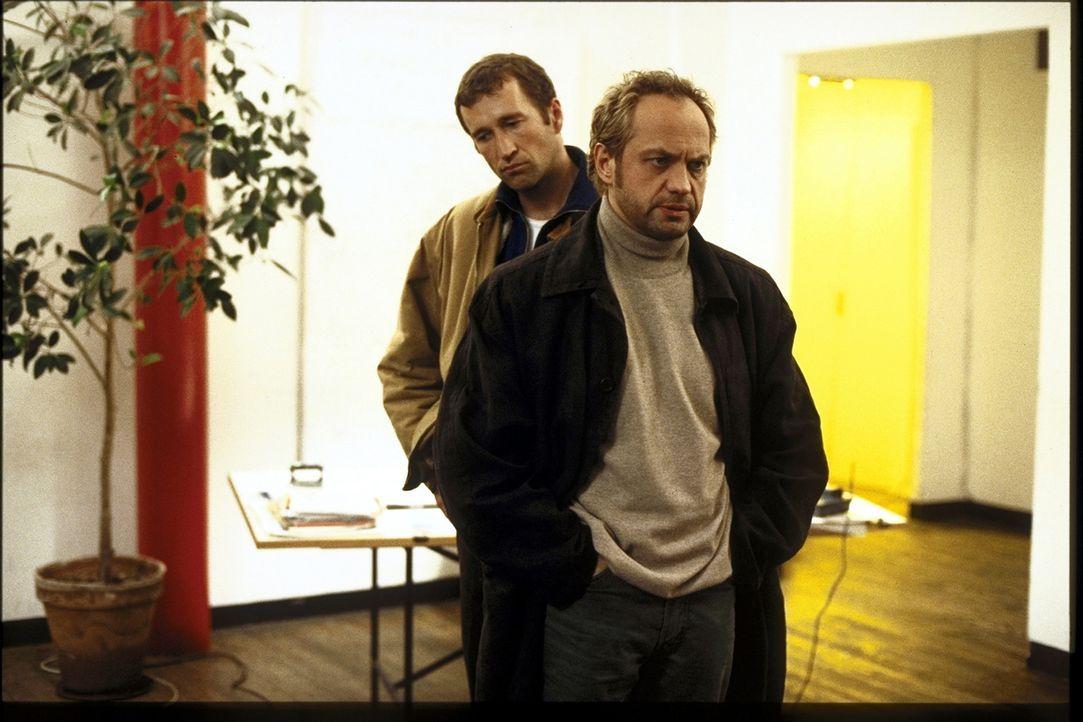 Hajo (Uwe Ochsenknecht, r.) und Alex (Peter Lohmeyer, l.) wissen nicht weiter ... - Bildquelle: T. Landgräber ProSieben