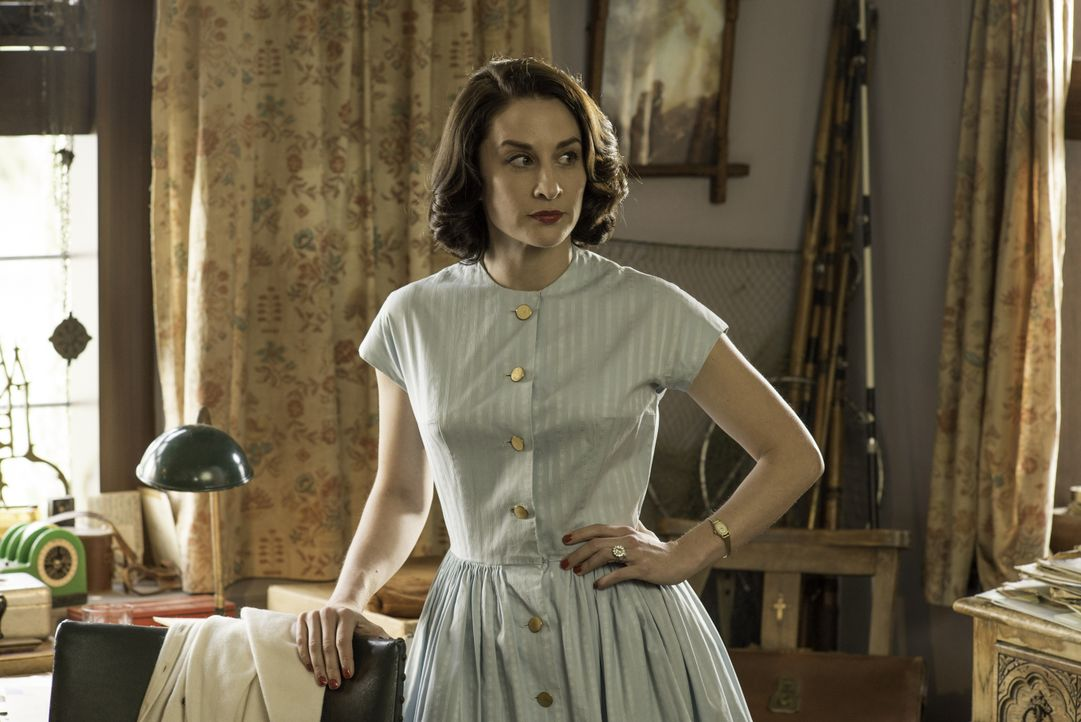 Amanda Hopkins (Morven Christie) - Bildquelle: Neil Genower LOVELY DAY PRODUCTION / ITV / Neil Genower