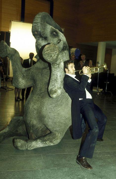Er hat kein Geld, aber einen verzweifelten Elefanten am Hals: Lennard (Peter Lohmeyer) ... - Bildquelle: Leslie Haslam ProSieben