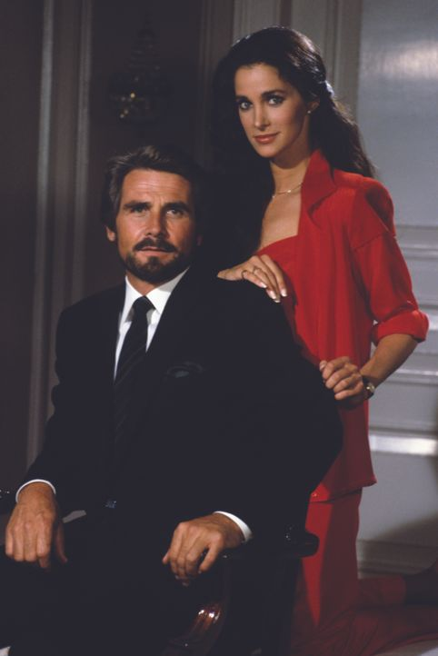 (1. Staffel) - Peter McDermott (James Brolin, l.); Christine Francis (Connie Sellecca, r.) - Bildquelle: American Broadcasting Companies, Inc. All rights reserved.