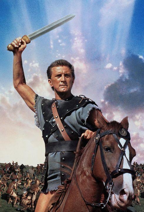 Der mutige Spartacus (Kirk Douglas) führt die Sklaven Roms in den Kampf gegen die ungeliebten Herrscher ... - Bildquelle: 1960 Universal Pictures Co., Inc.