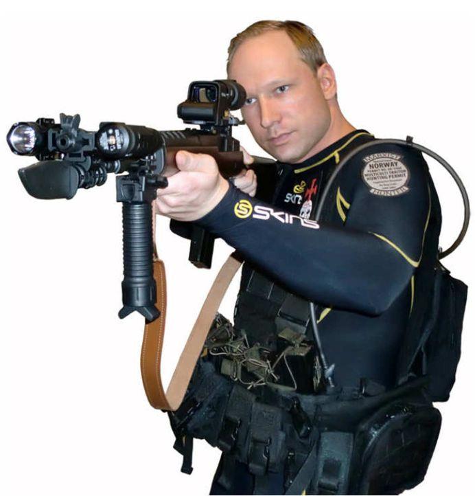 Anders Behring Breivik brachte am 22. Juli 2011 in Oslo und auf der Insel Utøya 77 Menschen um, überwiegend Teilnehmer an einem Zeltlager der sozial... - Bildquelle: Twofour Broadcast Limited