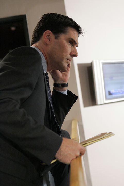 Auf einer heißen Spur: Special Agent Aaron Hotchner (Thomas Gibson) ... - Bildquelle: Cliff Lipson 2008 ABC Studios. All rights reserved. NO ARCHIVE. NO RESALE. / Cliff Lipson