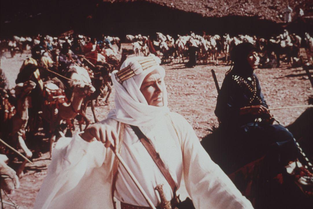 Unter der Führung von Lawrence (Peter O'Toole) werden die strategisch wichtige Hafenstadt Akaba erobert und ausgeklügelte Guerillaanschläge auf die... - Bildquelle: Columbia Pictures
