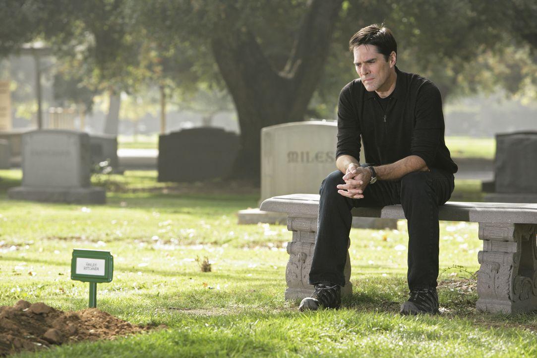 Ihm fällt der Abschied schwer: Hotch (Thomas Gibson) ... - Bildquelle: Adam Taylor 2009 ABC Studios. All rights reserved. / Adam Taylor