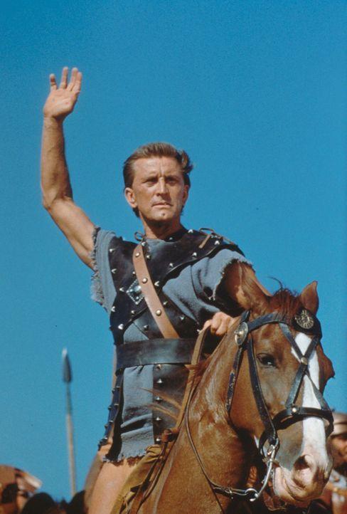 Der Gladiator Spartacus (Kirk Douglas) wagt das Unmögliche: Er führt die Sklaven Roms in den Kampf gegen die ungeliebten Herrscher ... - Bildquelle: 1960 Universal Pictures Co., Inc.