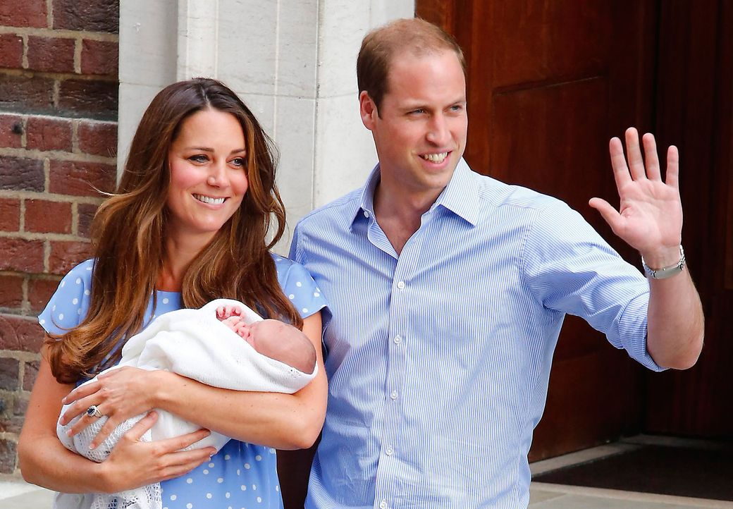 prinz-william-kate-george-130723-dpa - Bildquelle: dpa
