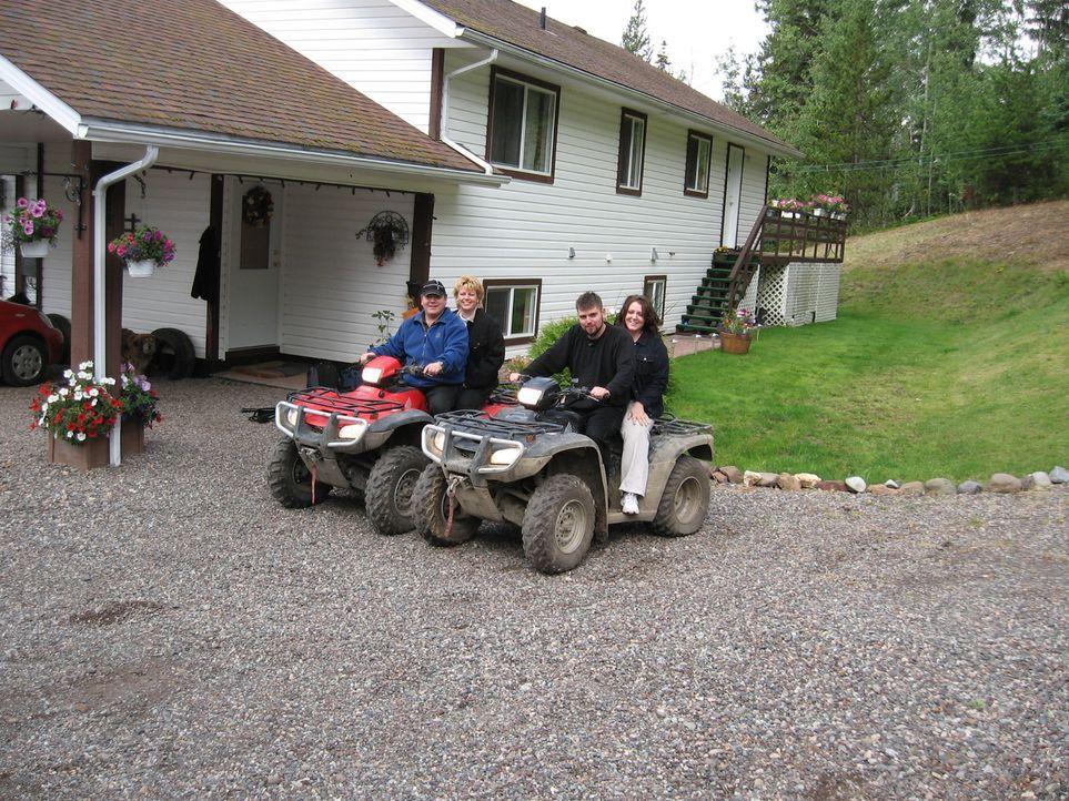 Familie Bork lebt seit genau 10 Jahren in British Columbia. In der Vergangenheit ist so mancher Traum geplatzt. Immer wieder mussten Michaela (45) u... - Bildquelle: kabel eins